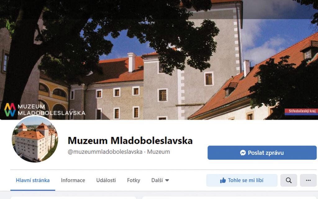 Sledujte Muzeum Mladoboleslavska na sociálních sítích!